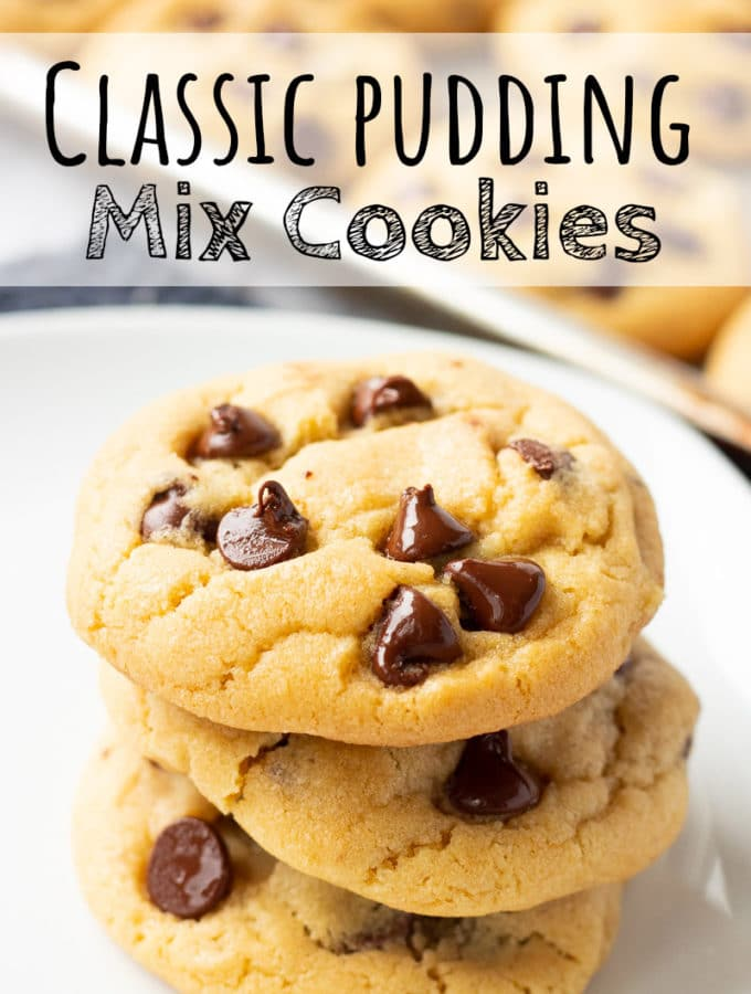 Classic Chocolate Chip Pudding Cookies
