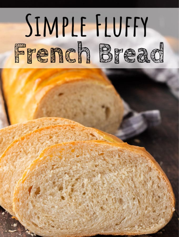 Simple Fluffy French Bread – One Loaf Recipe